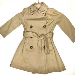 Gymboree Sz 3 khaki trench coat